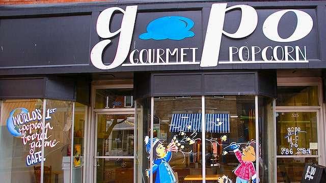 GoPo Gourmet Popcorn Bar - Fulton