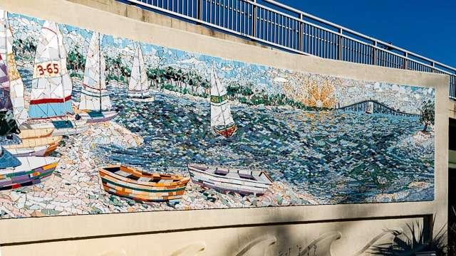 Mosaic Mural - Ocean Springs M