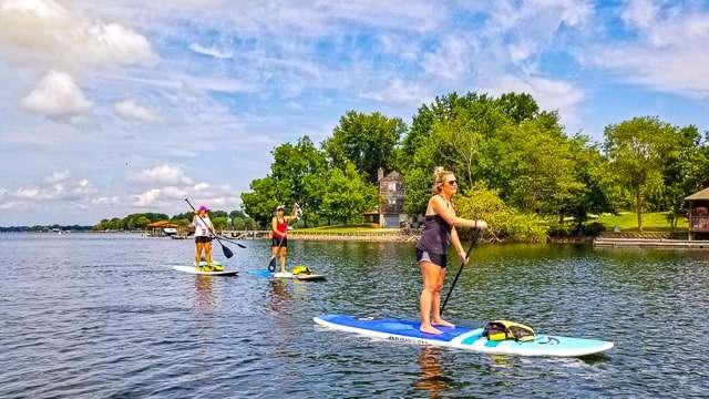 Paddle Boarding - Lake Norman
