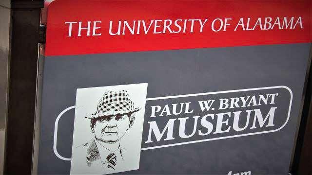 Paul W Bryant Museum - Tuscaloosa AL