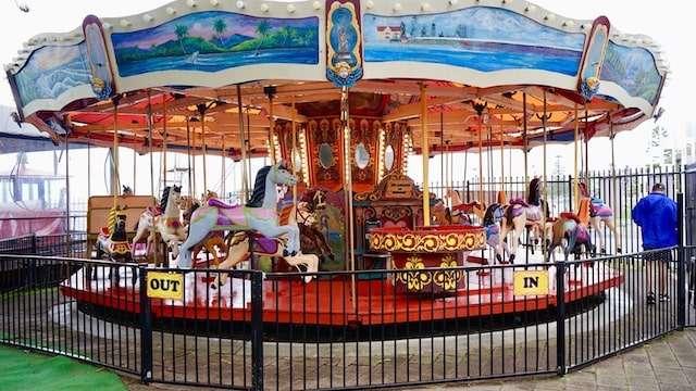 Historic Carousel –The Entrance