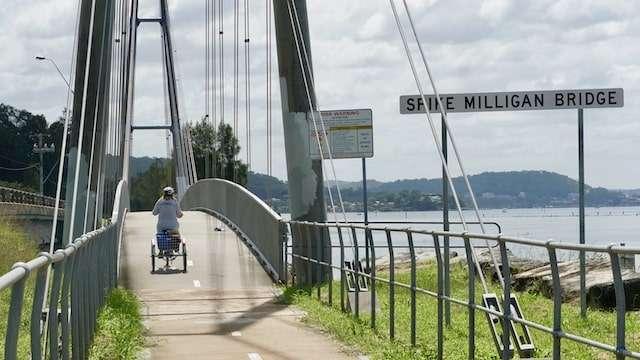 Spike Milligan Bridge Woy Woy