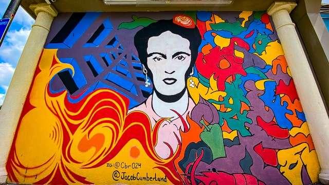 Frida Kahlo Mural Mississippi Secret Coast