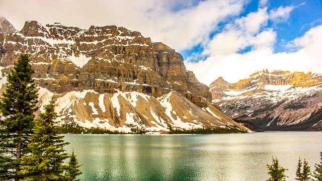 Lake along the Columbia Parkway - Banff AB