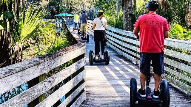 Glide Tours on the boardwalk