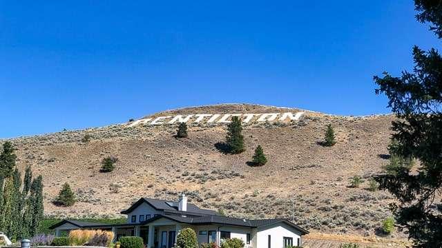 Penticton Hill Sign