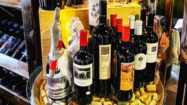 Wine shopping in Mount Dora