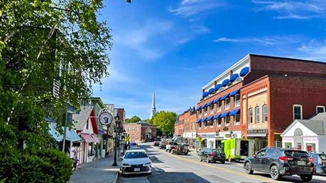 Main Street - Rockland Maine
