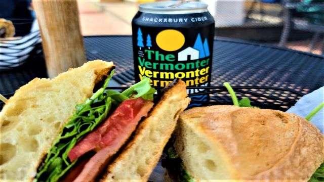 Dining at Mon Vert Café - Woodstock