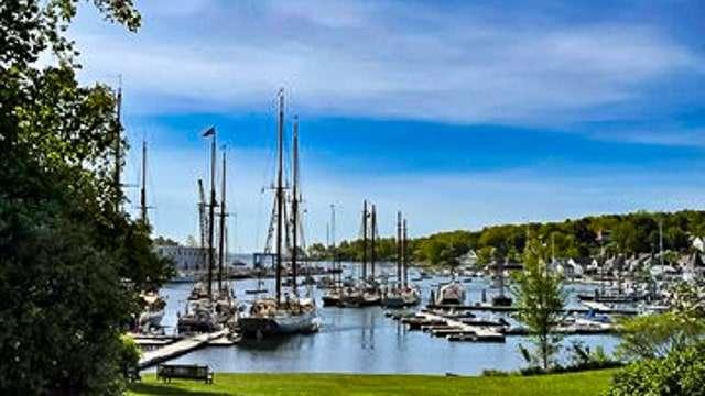 Camden Harbor - Maine