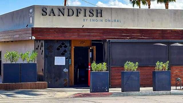 Sandfish Serves Great Sushi