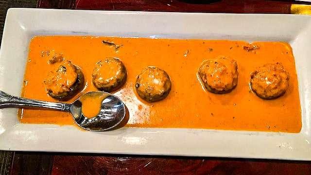 Stuffed Mushrooms & Vodka Sauce - Café Italia