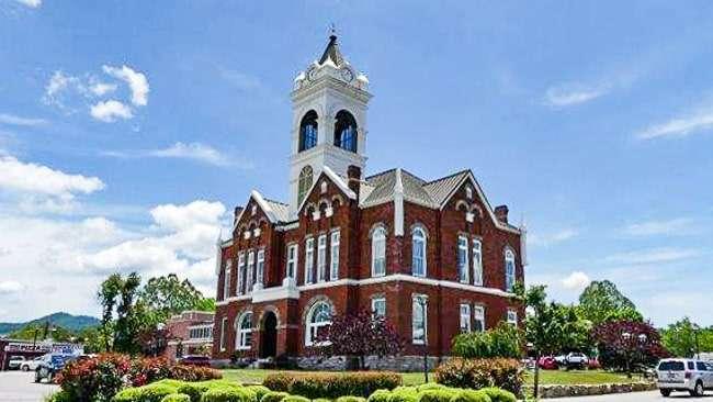 Blairsville GA Courthouse