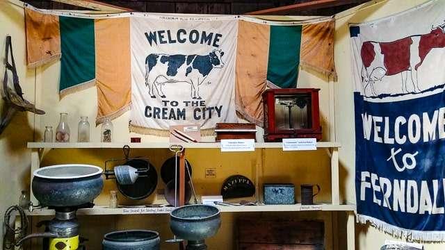 Ferndale Museum Cream City Exhibit