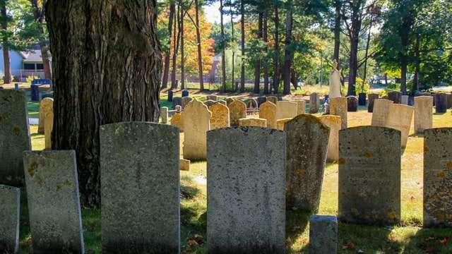Old Parish Cemetery - York Maine
