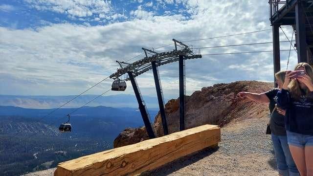 Gondola Ride at Mammoth Lakes