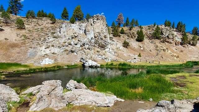 Hot Creek - Mammoth Lakes