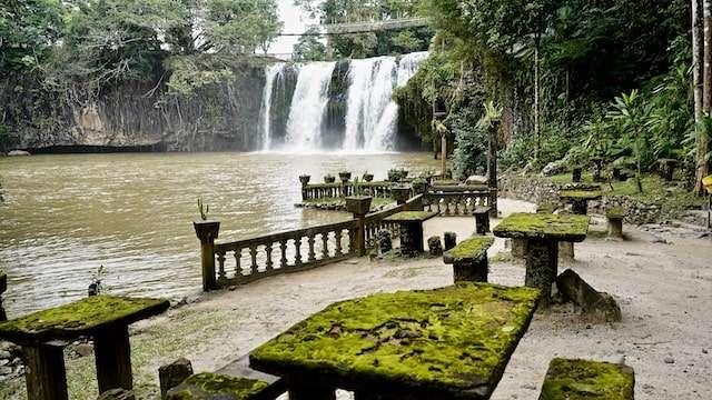Original Mena Creek Falls Picnic Area