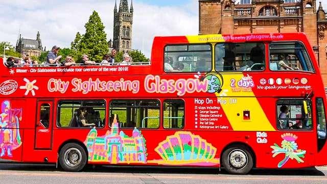 Glasgow Hop-on Hop-off Bus Tour