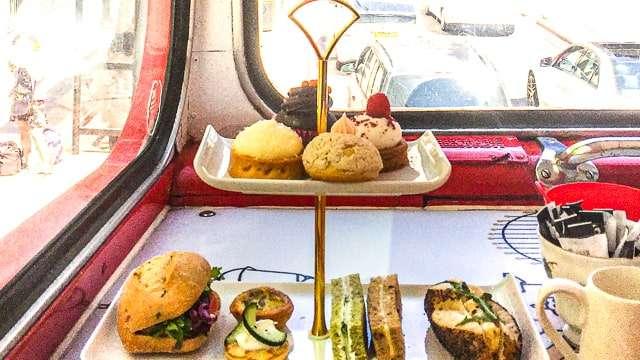 Glasgow - Afternoon Tea aboard Red Bus Bistro