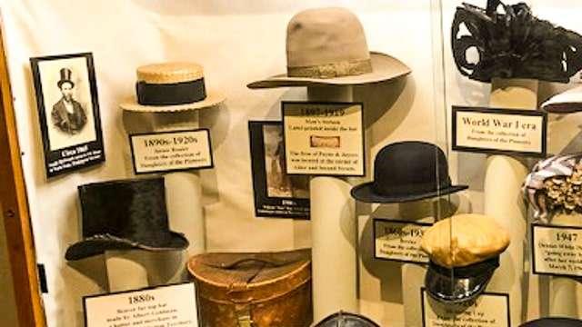 Fort Walla Walla Hat Display