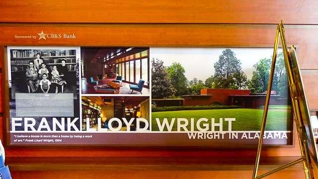 Frank Lloyd Wright House - Muscle Shoals