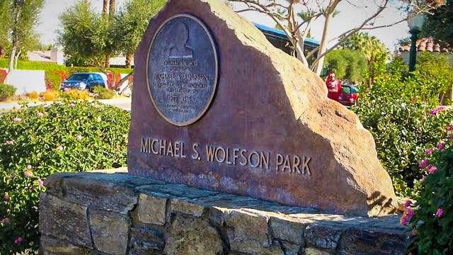 Michael S Wolfson Park