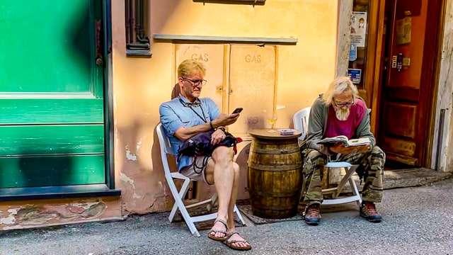 Street Scene, Vernazza